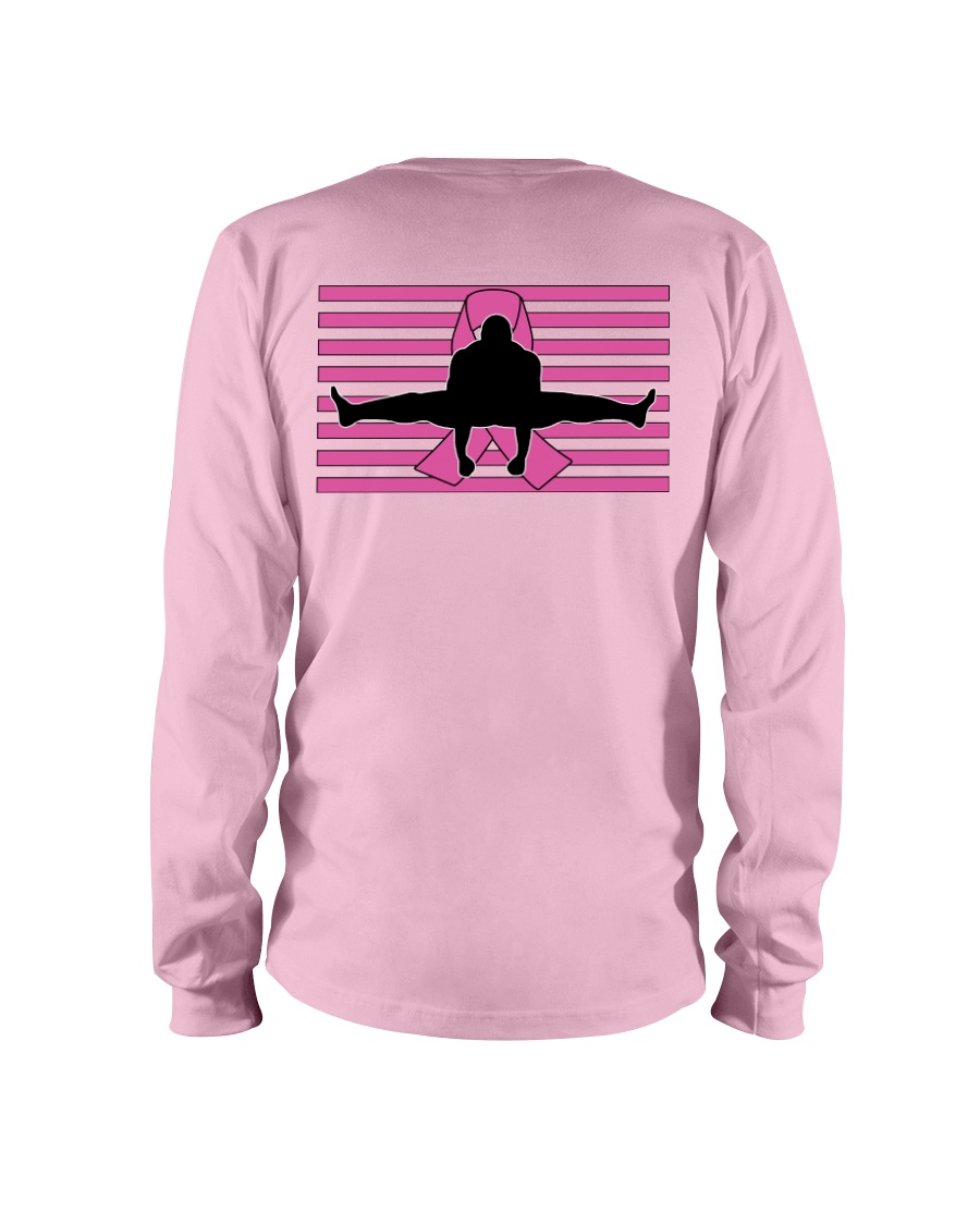 Official Bas Rutten -Kick Cancer- Apparel Long Sleeve Tee