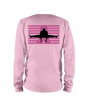 Official Bas Rutten -Kick Cancer- Apparel Long Sleeve Tee back