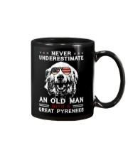 Pyrenees - Old Man - USA - Flag shirt Mug thumbnail