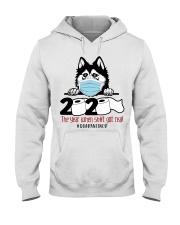 Husky-quarantined Hooded Sweatshirt thumbnail