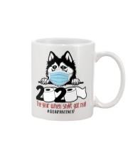 Husky-quarantined Mug thumbnail