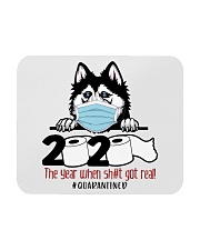 Husky-quarantined Mousepad thumbnail