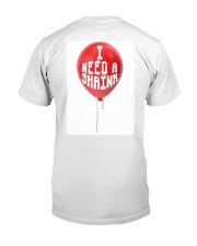 I Need A Shrink Premium Fit Mens Tee back