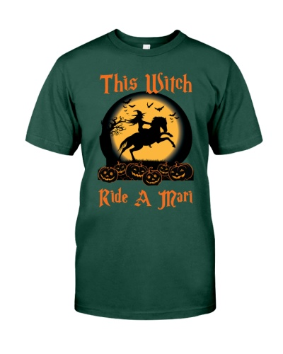 This Witch Ride A Mari - Halloween Tshirt