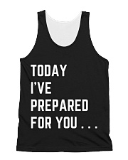 To I've Prepared for You All-over Unisex Tank thumbnail