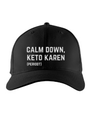 Calm Down Keto Karen Embroidered Hat thumbnail