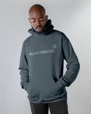 ALL PROTEINCO HOODIE Hooded Sweatshirt apparel-hooded-sweatshirt-lifestyle-front-09