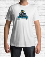 DezGamez New Logo Premium Fit Mens Tee lifestyle-mens-crewneck-front-1