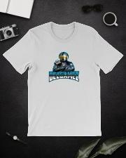DezGamez New Logo Premium Fit Mens Tee lifestyle-mens-crewneck-front-16