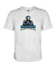 DezGamez New Logo V-Neck T-Shirt thumbnail