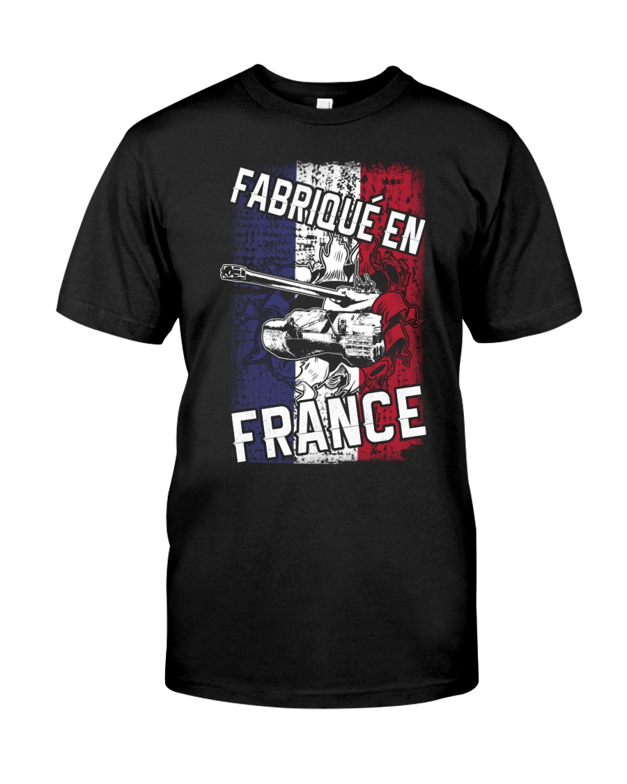 FROM FRANCE Premium Fit Mens Tee