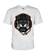 BEAST TANKER V-Neck T-Shirt thumbnail