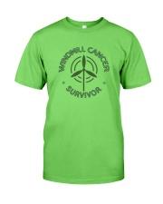 WINDMILL CANCER SURVIVOR Classic T-Shirt front