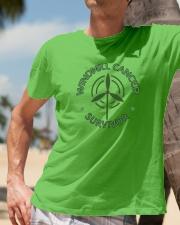 WINDMILL CANCER SURVIVOR Classic T-Shirt lifestyle-mens-crewneck-front-11