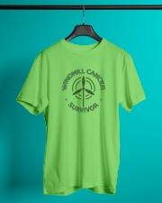 WINDMILL CANCER SURVIVOR Classic T-Shirt lifestyle-mens-crewneck-front-3