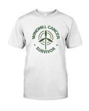 WINDMILL CANCER SURVIVOR Classic T-Shirt tile