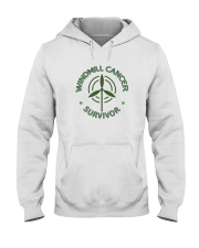 WINDMILL CANCER SURVIVOR Hooded Sweatshirt thumbnail