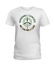 WINDMILL CANCER Ladies T-Shirt thumbnail