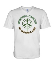 WINDMILL CANCER V-Neck T-Shirt thumbnail