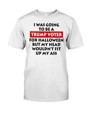 HALLOWEEN TRUMP VOTER Classic T-Shirt front
