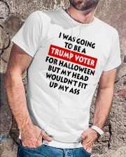 HALLOWEEN TRUMP VOTER Classic T-Shirt lifestyle-mens-crewneck-front-4
