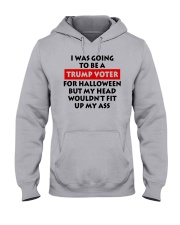 HALLOWEEN TRUMP VOTER Hooded Sweatshirt thumbnail