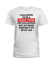 HALLOWEEN TRUMP VOTER Ladies T-Shirt thumbnail