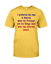In a better time Classic T-Shirt front