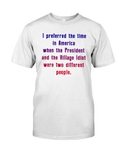 In a better time Classic T-Shirt tile