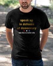 speak up Classic T-Shirt apparel-classic-tshirt-lifestyle-front-50
