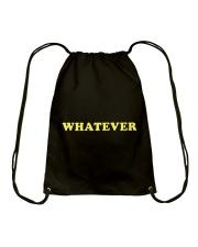 WHATEVER Drawstring Bag thumbnail