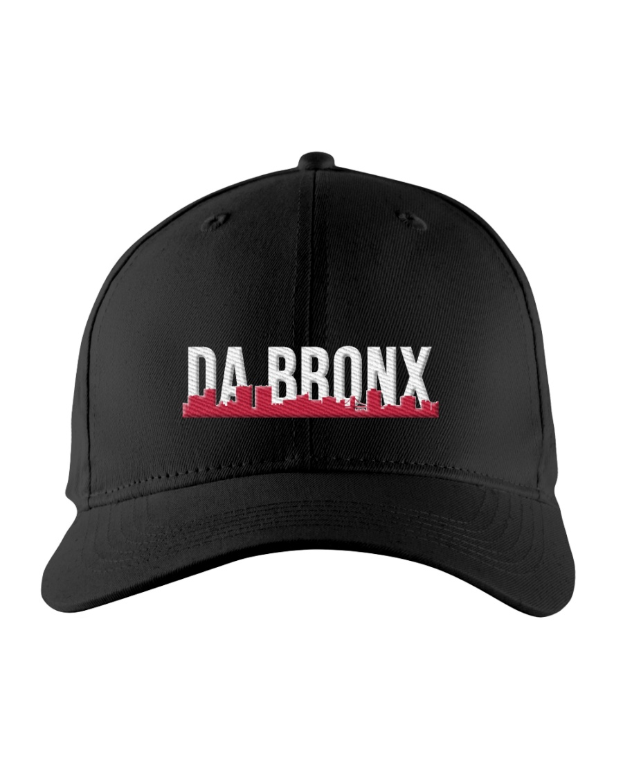 DA BRONX HAT with RED Embroidered Hat