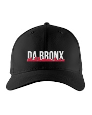 DA BRONX HAT with RED Embroidered Hat front