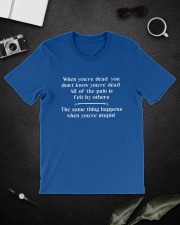 Dead Stupid Classic T-Shirt lifestyle-mens-crewneck-front-16