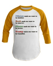4 presidents Baseball Tee thumbnail