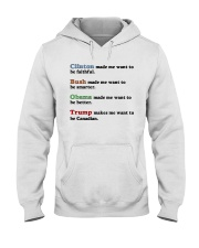 4 presidents Hooded Sweatshirt thumbnail