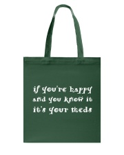 IT's YOUR MEDS Tote Bag thumbnail