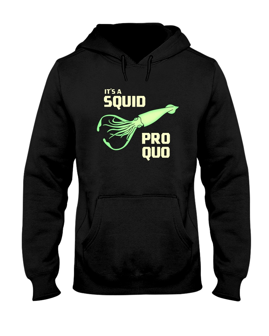 SQUID PRO QUO Hooded Sweatshirt