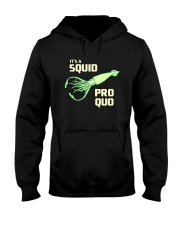SQUID PRO QUO Hooded Sweatshirt front