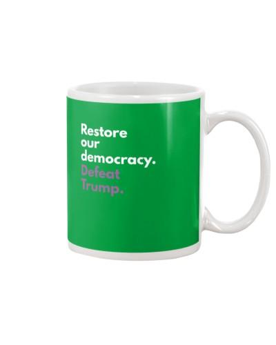 Restore our democracy