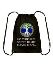 CLIMATE CHANGE Drawstring Bag thumbnail