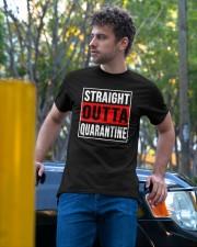 STRAIGHT OUTTA QUARANTINE Classic T-Shirt apparel-classic-tshirt-lifestyle-front-44