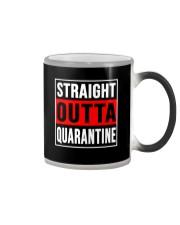 STRAIGHT OUTTA QUARANTINE Color Changing Mug thumbnail