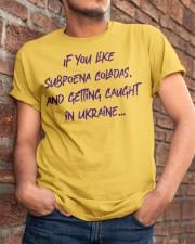 SUBPOENA COLADAS Classic T-Shirt apparel-classic-tshirt-lifestyle-26