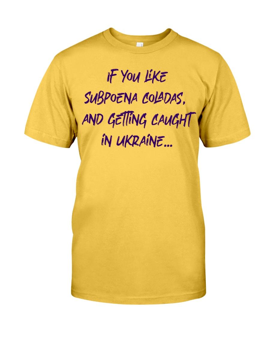 SUBPOENA COLADAS Classic T-Shirt