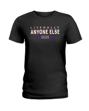 ANYONE ELSE Ladies T-Shirt thumbnail