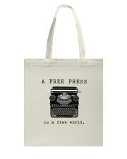 THE PRESS Tote Bag thumbnail