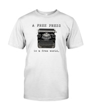 THE PRESS Classic T-Shirt front