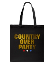Country Over Party Tote Bag thumbnail
