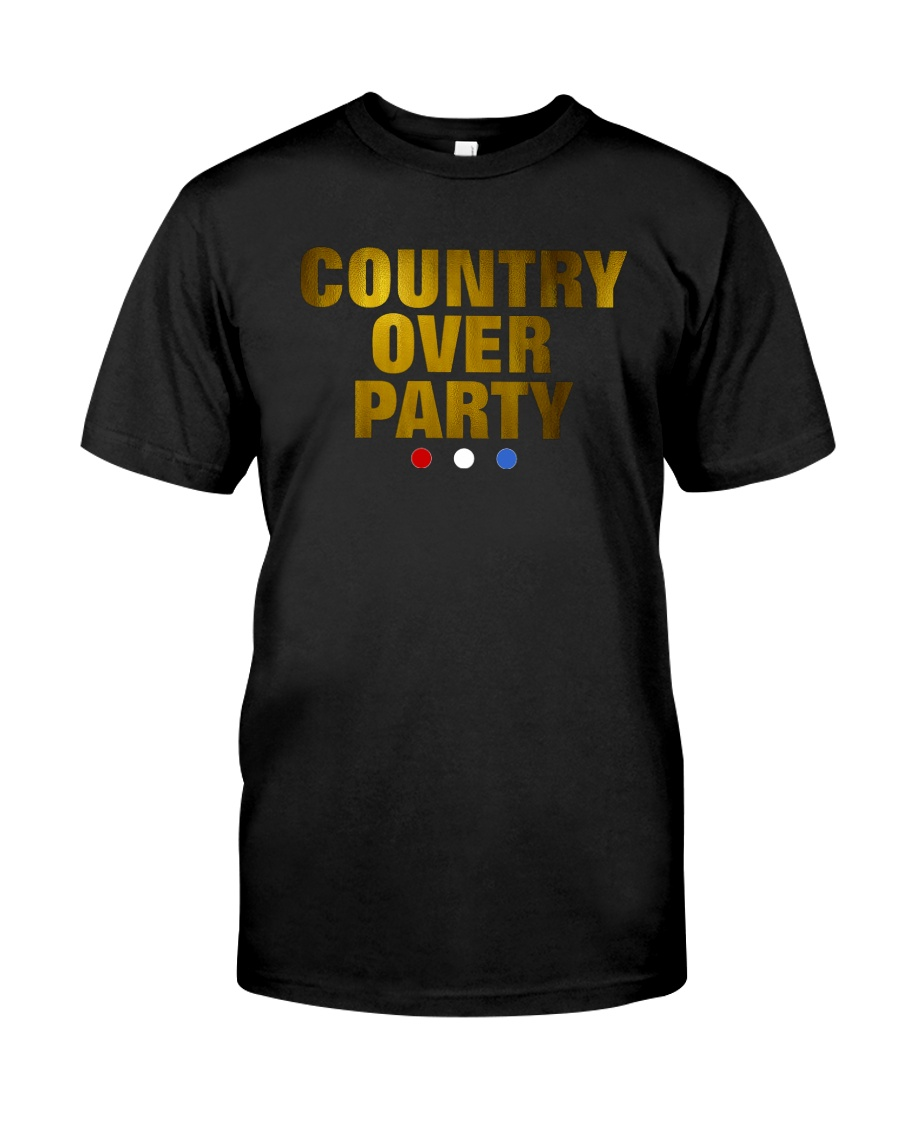 Country Over Party Classic T-Shirt
